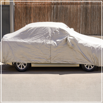 cover on car